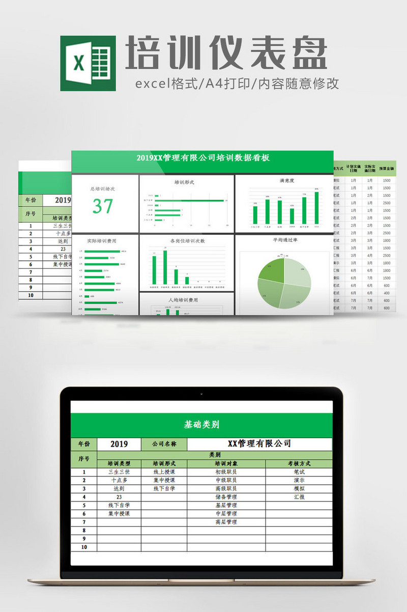 Recruitment Dashboard Excel Template