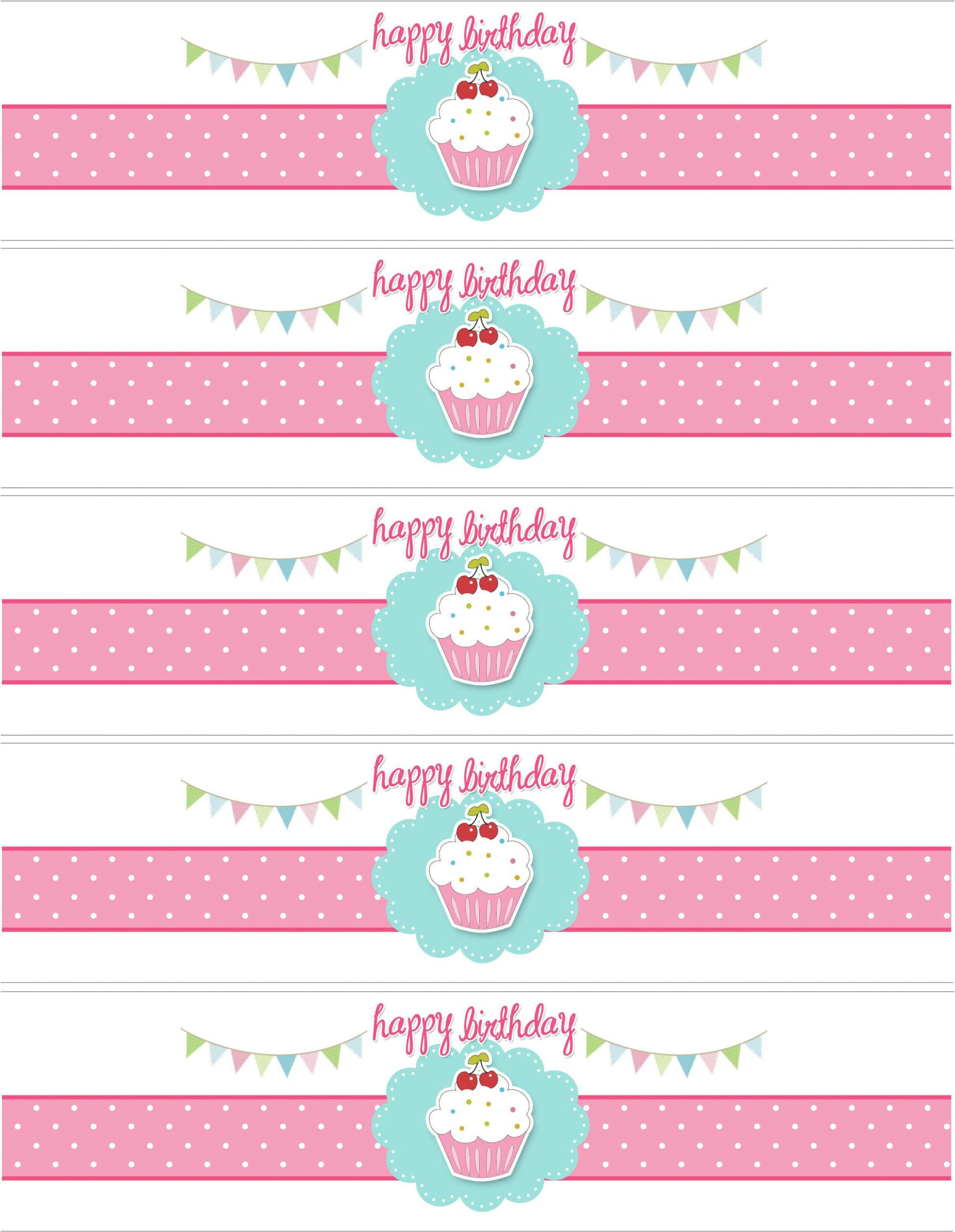 Smuckers Birthday Label Template