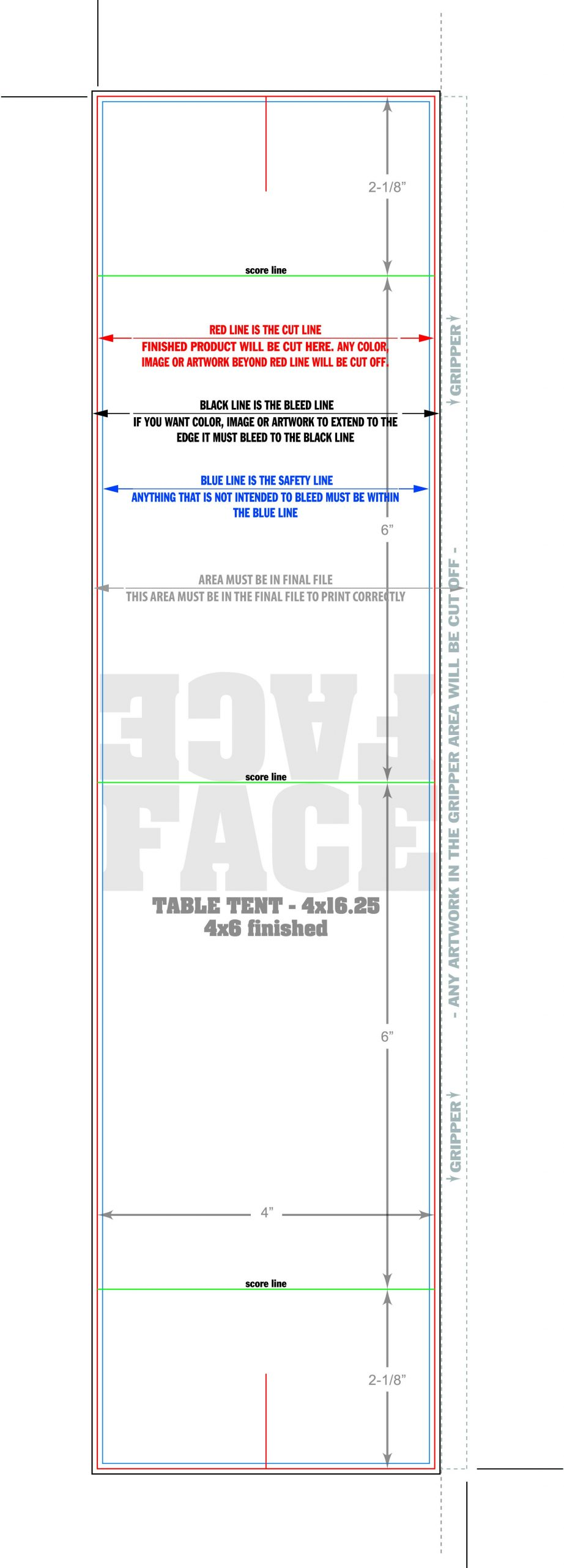 Table Tent Cards Templates