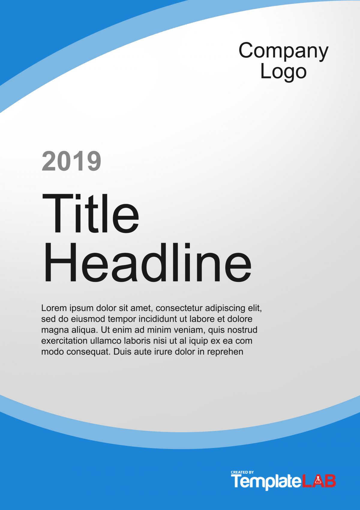 Title Page Template Word