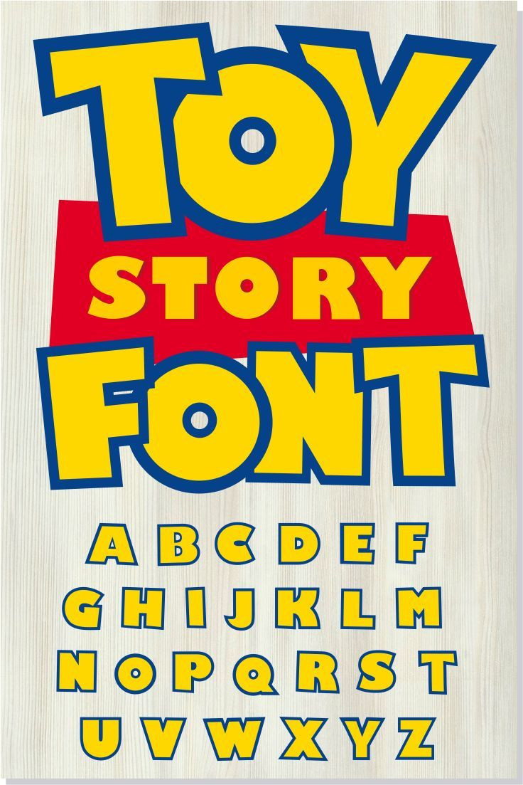 Toy Story font SVG Toy Story font OTF Toy Story your