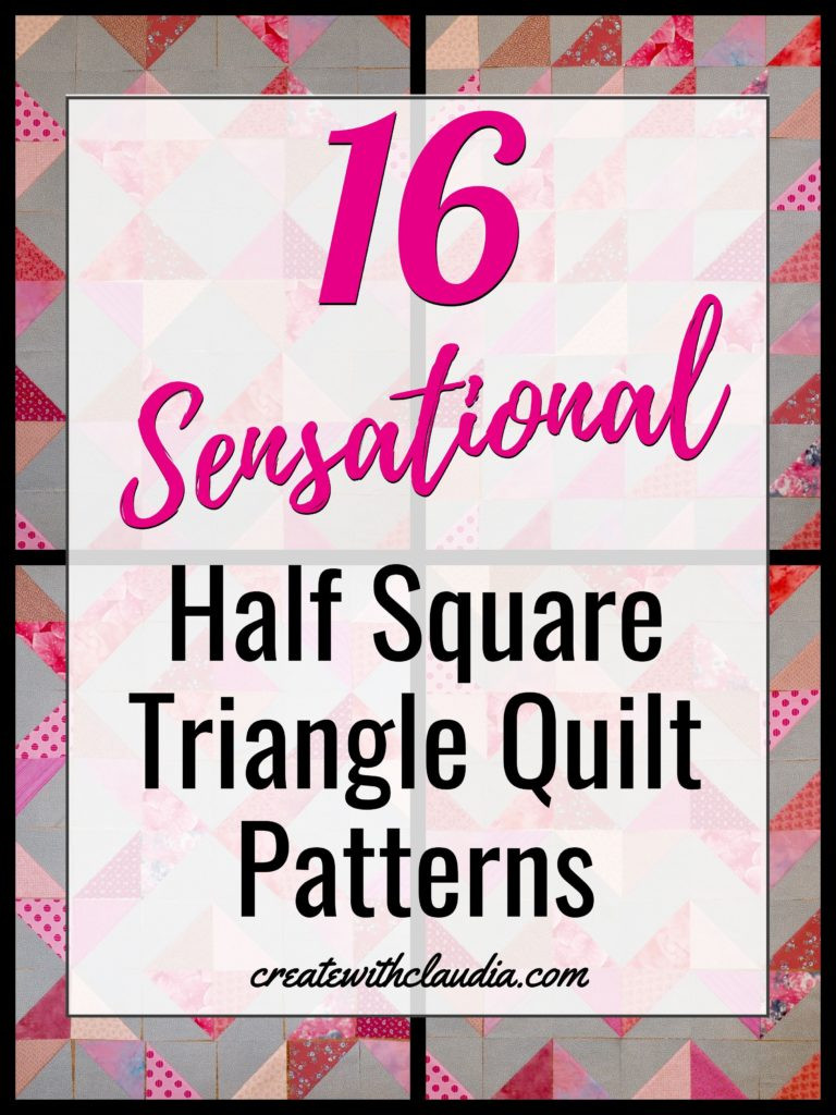 Triangle Template for Quilting