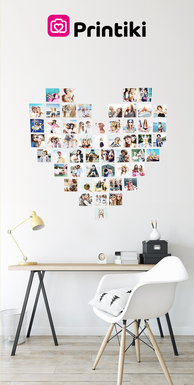 Wall Photo Collage Template