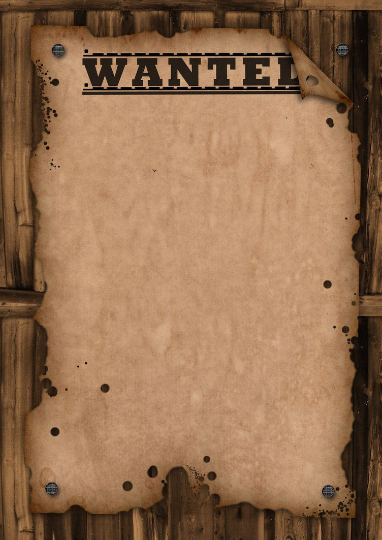 Wanted Poster Word Template