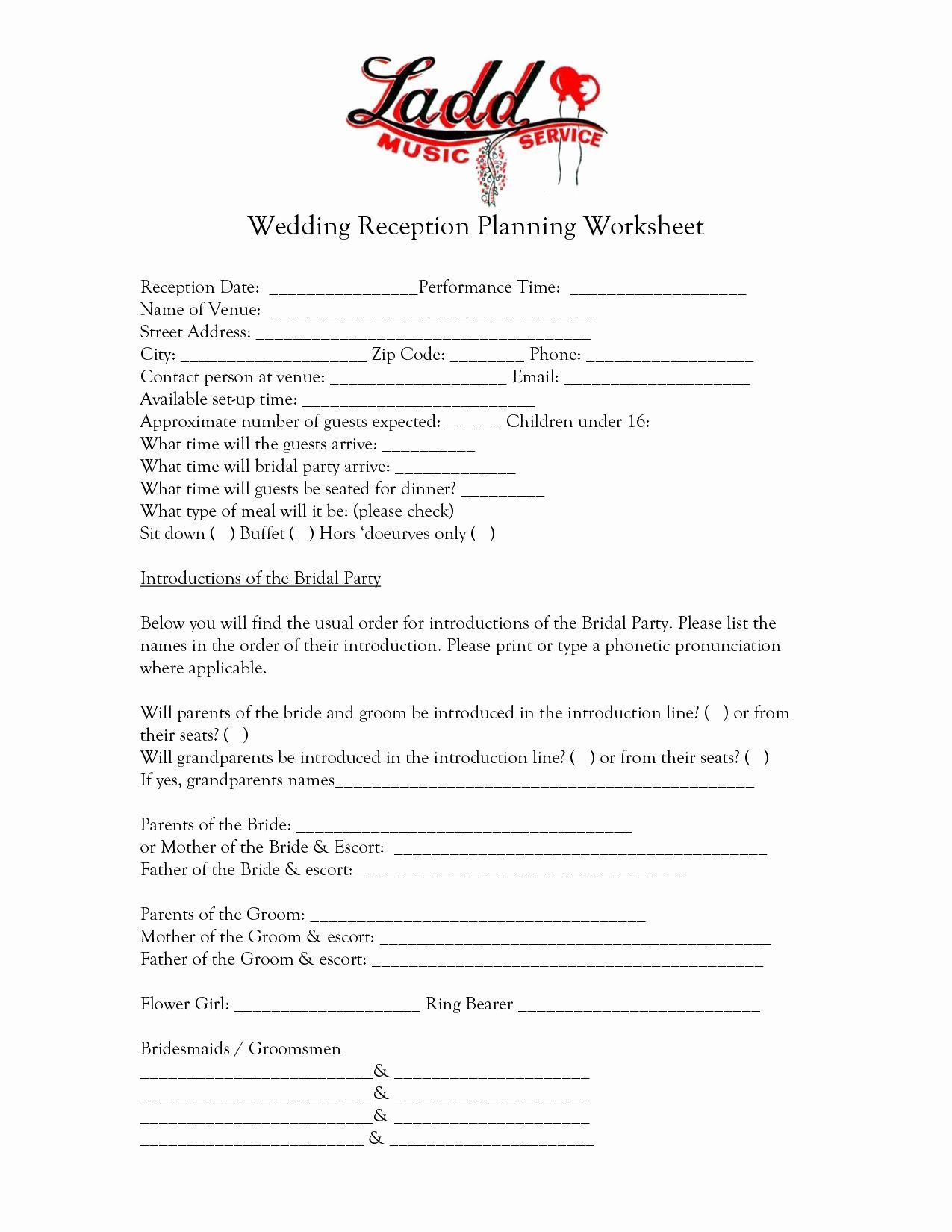 Wedding Video Contract Template