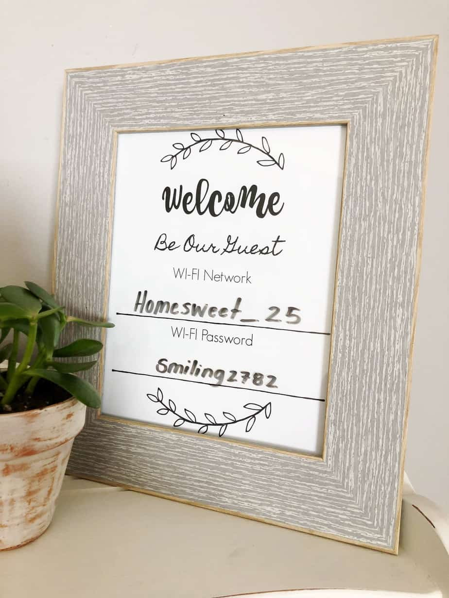 Welcome Sign Template Free